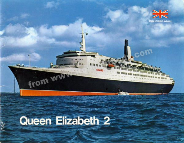 QE In Rob Lightbodys Website - Qe2 cruise ship